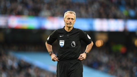 Martin Atkinson let them play early