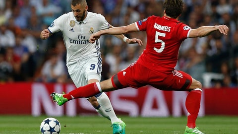 Bayern started brightly, but Madrid found their feet