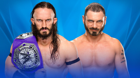 Kickoff show: Neville vs. Austin Aries for the Cruiserweight Championship