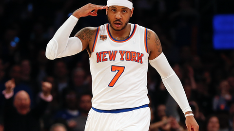 Carmelo can't reinvent himself, this is who he is
