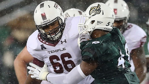 63. Buffalo Bills (via trade with Atlanta Falcons): Dion Dawkins, OG, Temple