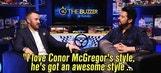 Austin Dillon Digs Conor McGregor's Style