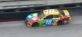 Kyle Busch Blows Right-Front Tire   2017 BRISTOL   FOX NASCAR