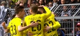 Marco Reus gives Dortmund the early lead​ | 2016-17 Bundesliga Highlights