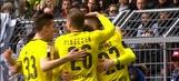 Marco Reus gives Dortmund the early lead | 2016-17 Bundesliga Highlights