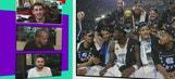 North Carolina celebrates national championship with mathematical Roy Williams