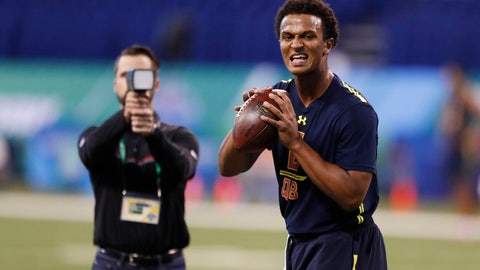 Kelly just wants Kizer to save his job