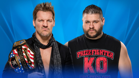 Chris Jericho vs. Kevin Owens for the United States Championship