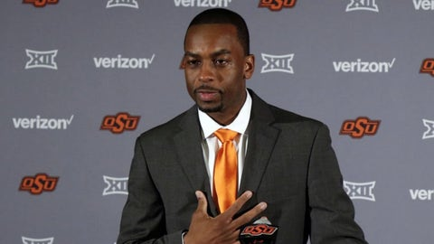 Oklahoma State: Mike Boynton Jr. (former Oklahoma State assistant)