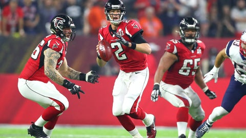Matt Ryan's weakness is that he constantly over-analyzes