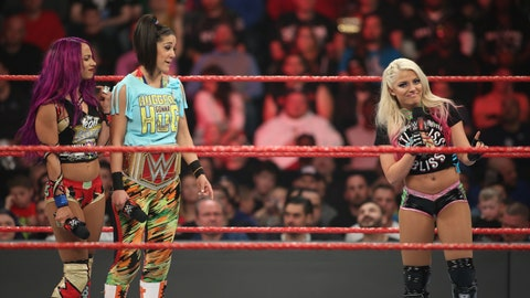 Fox Sports: Now you're coming into a division led by Bayley, who had a reputation as a mentor to some of the younger women in NXT before she was called up. What has your relationship with Bayley been like, and what did she mean to you early in your career?
