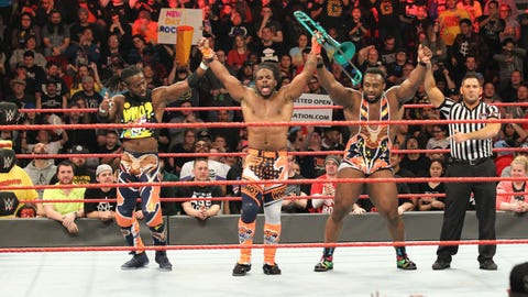 The New Day to SmackDown