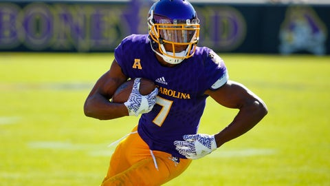 37. Buffalo Bills (via trade with Los Angeles Rams):  Zay Jones, WR, East Carolina