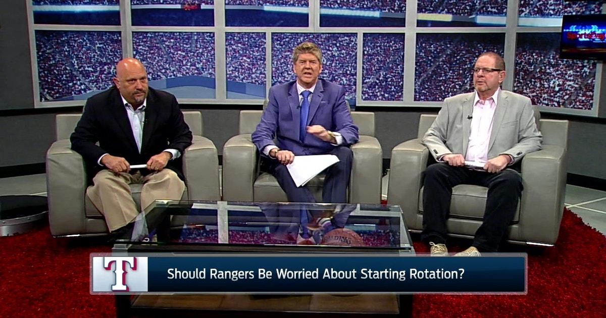 Sportsday Onair Rangers Have New Tv Announcers Fox Sports