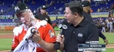Justin Bour on big game: It's all a matter of staying positive