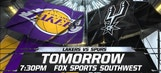 Spurs Live: Spurs vs. Lakers