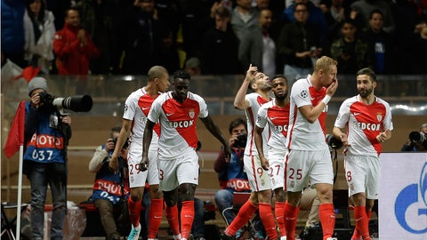 Monaco were relentless on their counterattack