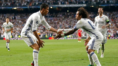 Ronaldo and Marcelo overload