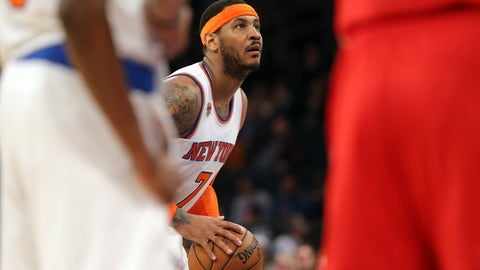 Jim Jackson: Carmelo couldn't raise the level of his franchises