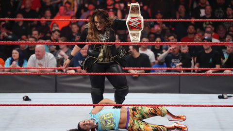 Fox Sports: There was a moment you had with Nia Jax on Raw Monday, who I know is someone you're very close with. What's it been like to reconnect with her now that you're on Raw?