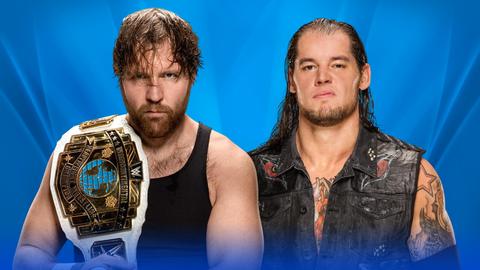 Dean Ambrose vs. Baron Corbin for the Intercontinental Championship