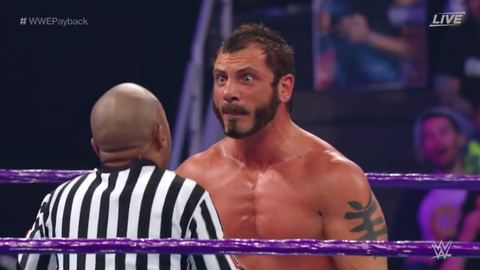Austin Aries defeated Neville by disqualification, Neville retains the Cruiserweight Championship