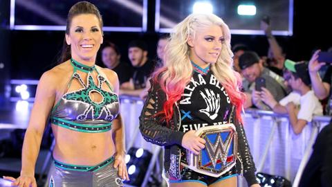 Alexa Bliss vs. Becky Lynch vs. Carmella vs. Naomi vs. Mickie James vs Natalya for the SmackDown Women's Championship