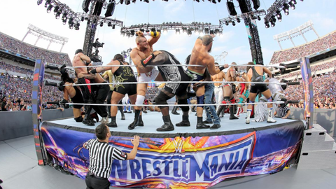 Fox Sports: Now that you've had a couple weeks for it to sink in, when you think back to WrestleMania weekend now, what is the first image that pops in your mind?