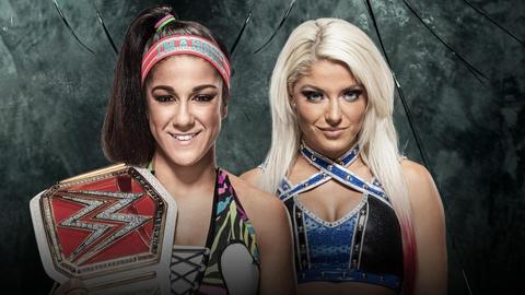 Bayley vs. Alexa Bliss for the Raw Women's Championship