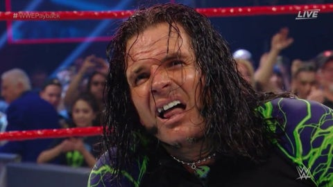 The Hardy Boyz defeated Sheamus and Cesaro to retain the Raw Tag Team Championship
