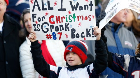 People ignore Gronkowski's behavior because 'that's just Gronk'