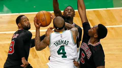 Isaiah Thomas struggles in the playoffs, just like all small guards