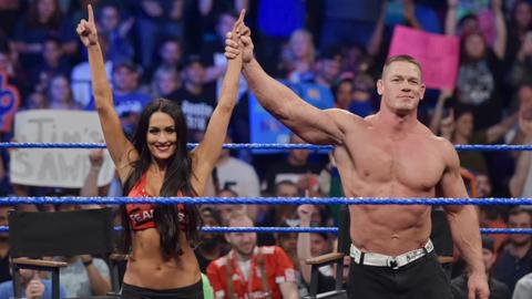 The Miz and Maryse vs. John Cena and Nikki Bella