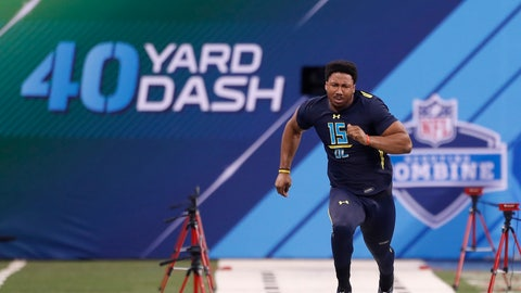 NFL scouts always get hung up on combine performances