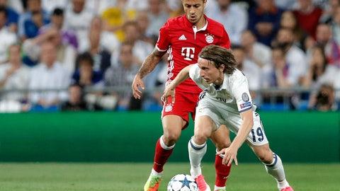 MF: Luka Modric - Real Madrid