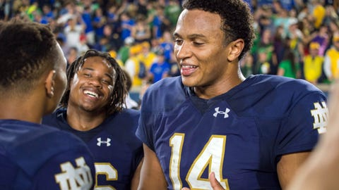 Kizer can grow and improve in the NFL