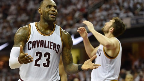 LeBron could do even more, but he sacrifices stats for the good of the team
