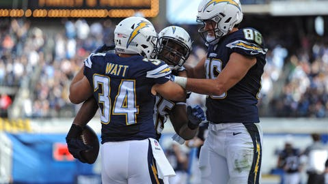 Los Angeles Chargers - 9:11