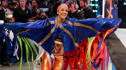 WWE has a lot of faith in Bayley as the face of the women's division