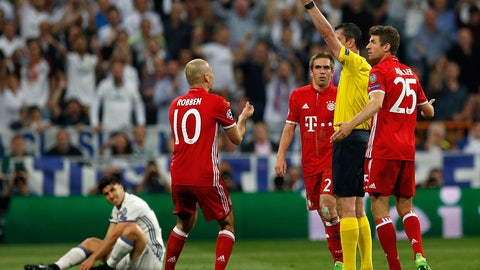 This match deserved better than a red card