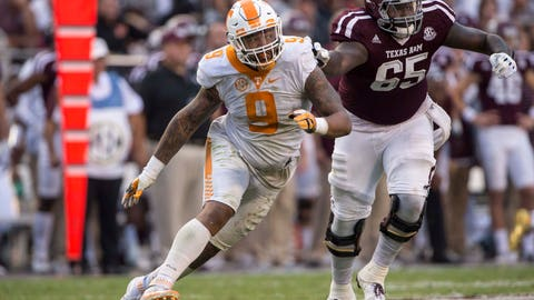 8. Panthers: Derek Barnett - DE - Tennessee