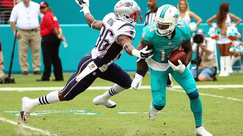 Landry knows the Dolphins can't afford to be intimidated by New England