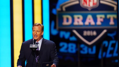 There will be fewer than five trades in the first round on draft night