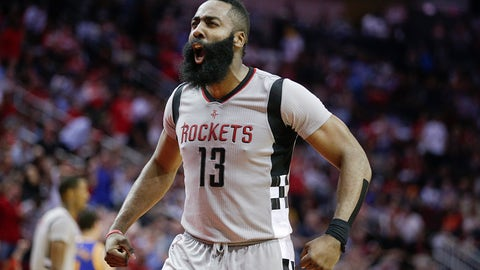 James Harden, SG, 2016-17 Houston Rockets