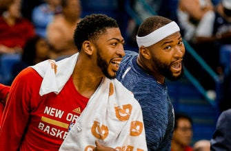 Images of Anthony Davis, Pelicans are 'tired of losing'