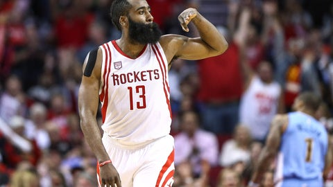 MVP: James Harden, Houston Rockets