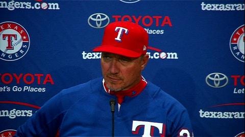 Texas Rangers: Jeff Banister
