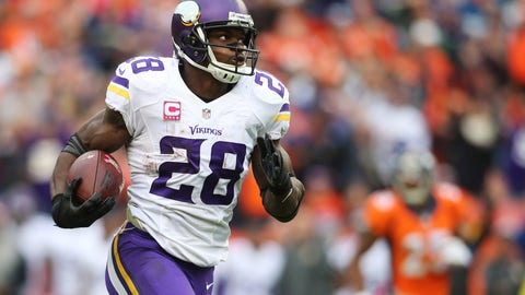 Adrian Peterson needs carries, and he might not get them