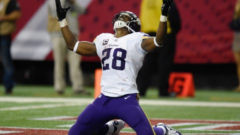 Feeding the ball to Adrian Peterson will only help the Saints' defense