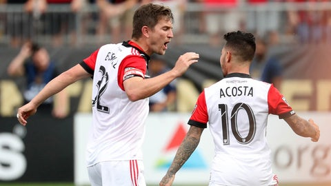 D.C. United are too dependent on Luciano Acosta
